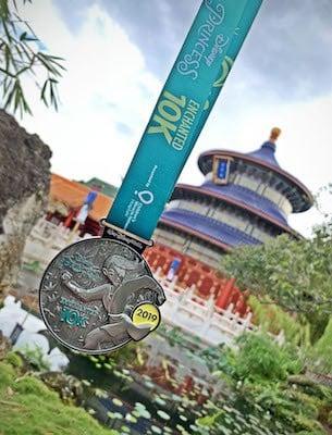 Mulan Princess 10K Medal