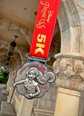 runDisney Elena Princess 5K Medal