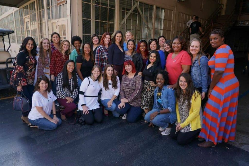 Personal set visit tour from Mercedes Mason of The Rookie cast