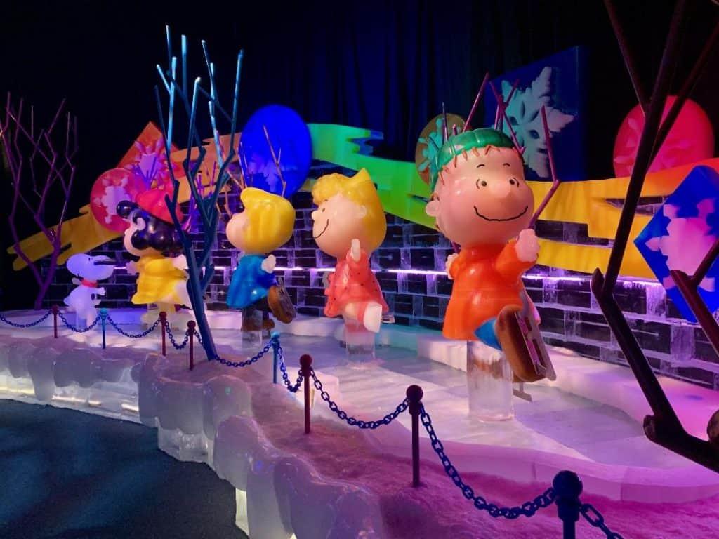 Gaylord Ice Charlie Brown Christmas