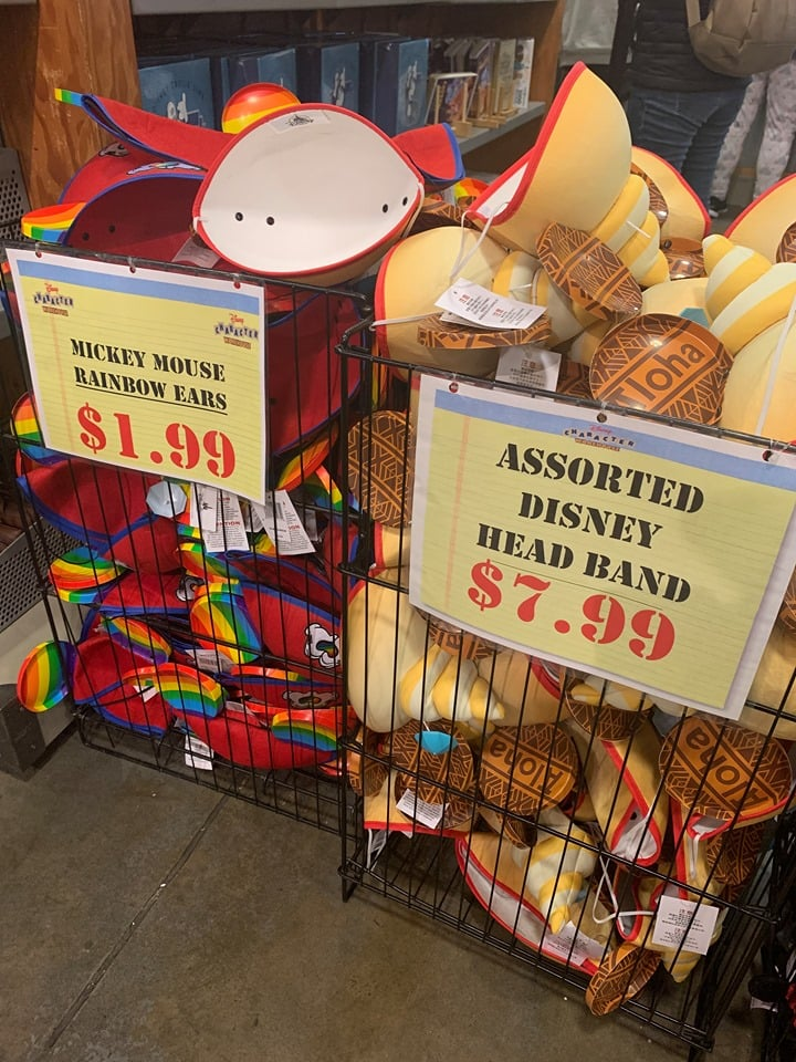 Save money on Disney souvenirs at Disney outlets.
