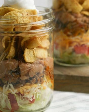 Easy Fritos Pie in a Jar recipe