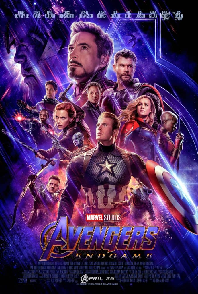 New Avengers Endgame movie poster! Here's the best order to watch the Marvel movies before Avengers: Endgame comes out!