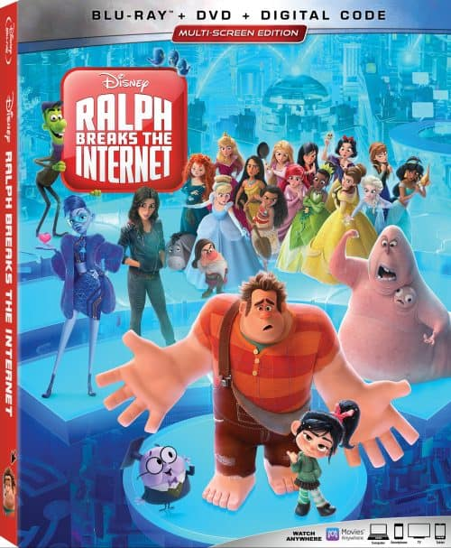Ralph Breaks the Internet is on Blu-ray February 26!