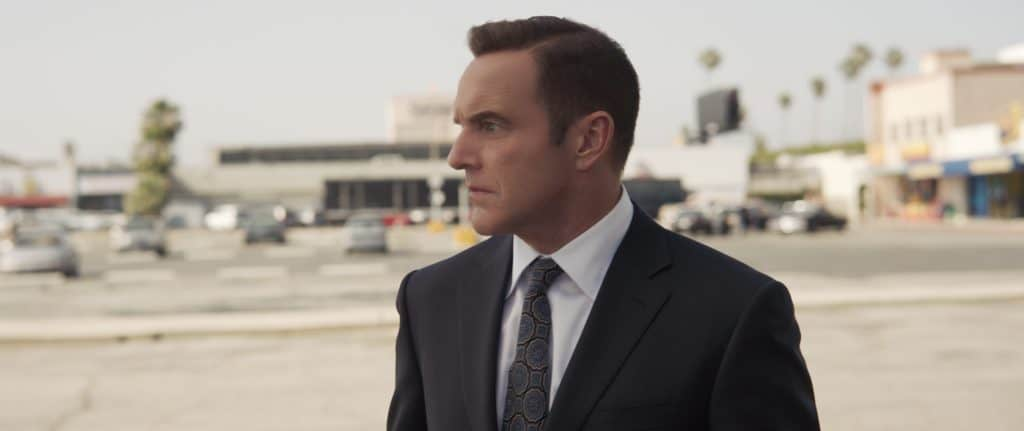 Young Agent Coulson in Captain Marvel