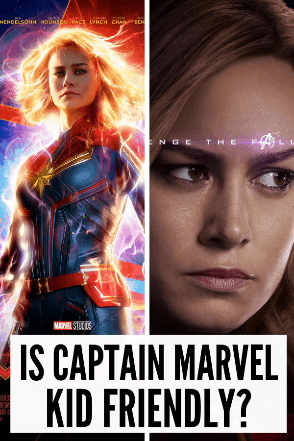 Is Captain Marvel Kid Friendly? What ages should see Captain Marvel? Here's my parent movie guide on the profanity, violence, and sexual content in Marvel's latest film.