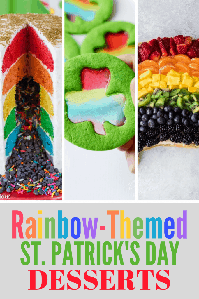 Rainbow-Themed Desserts for St. Patrick's Day