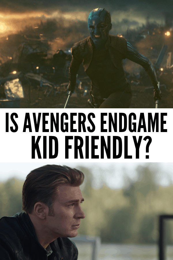 Is Avengers Endgame kid friendly? The details on language and violence in the newest Marvel film. I counted all the bad words for you and tell you the ages I recommend for Avengers: Endgame.