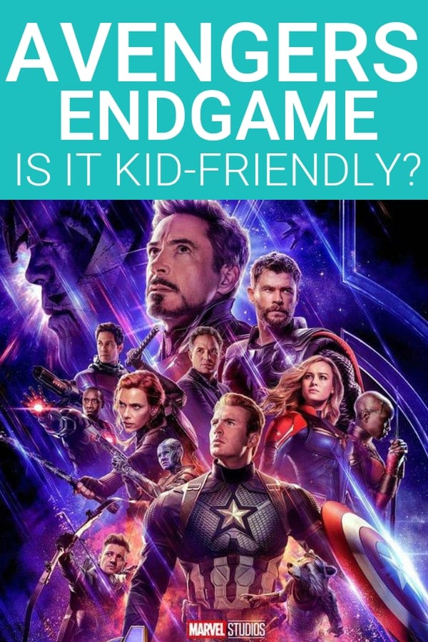 Is Avengers Endgame kid friendly? All the details on language, violence, and mature content in Avengers Endgame. Read this before you take your kids.