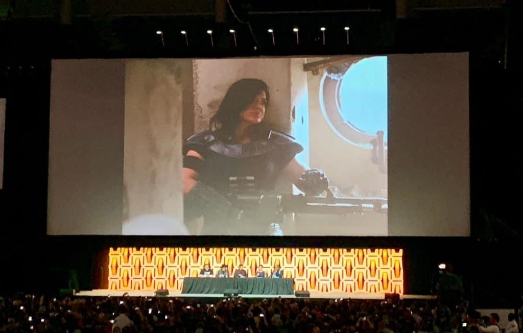 New character Cara Doon in Disney+ The Mandalorian