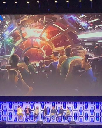 Details of Millennium Falcon Smugglers Run in Disneyland
