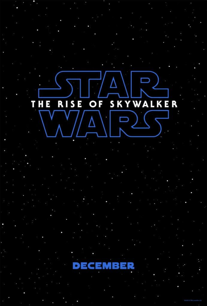 Star Wars Episode 9 Movie Poster