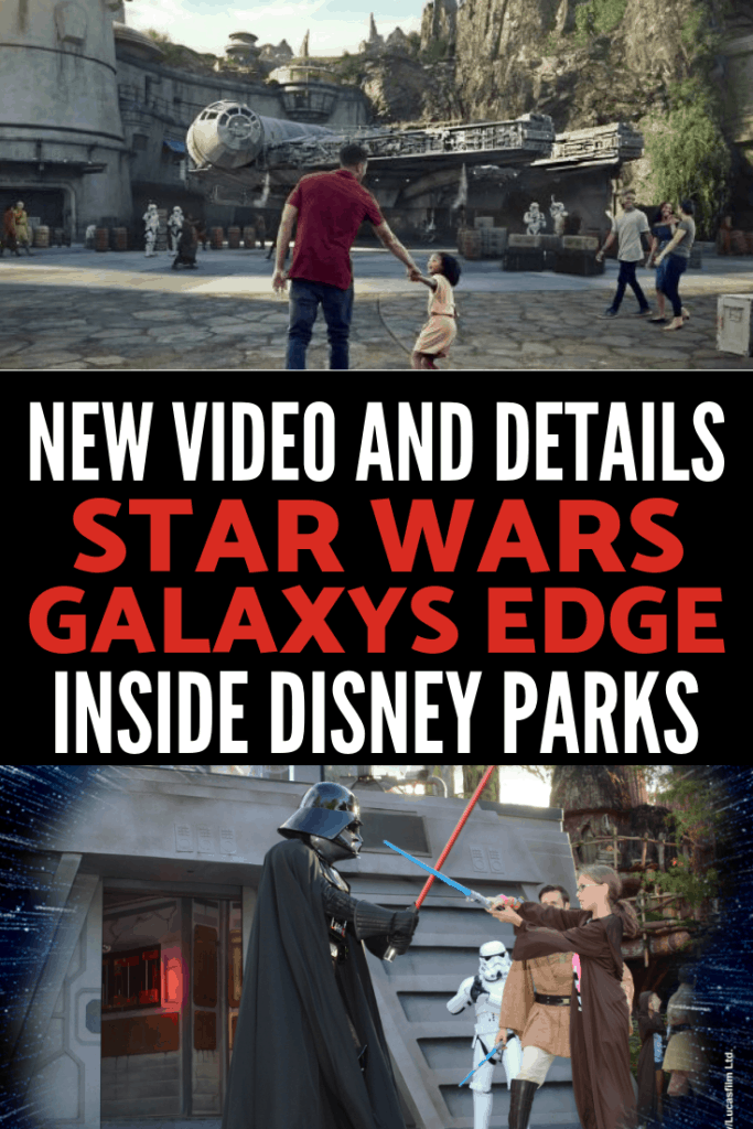 New video and details about Star Wars: Galaxy's Edge at Disney Parks! Here's all I learned about what you can expect at Star Wars Land at Disneyland and Disney World from Star Wars Celebration straight from the Imagineers' mouths!
