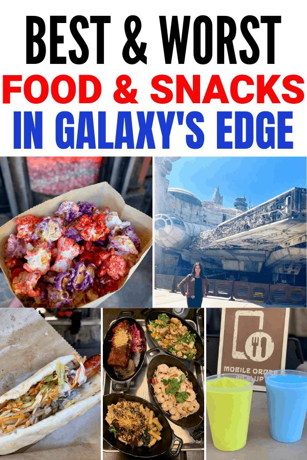 Best and Worst Food in Star Wars: Galaxy's Edge in Disneyland