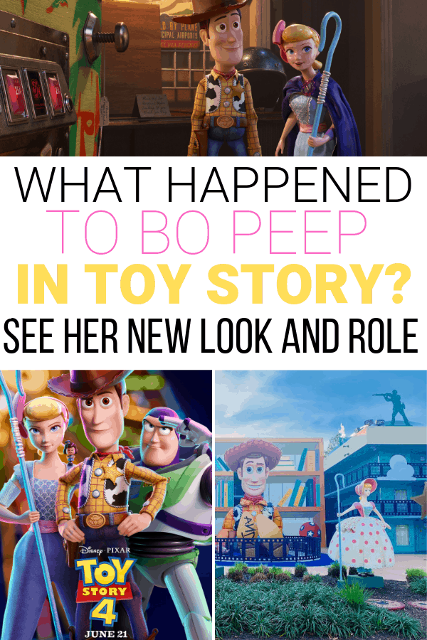 What happened to Bo Peep in Toy Story 4?