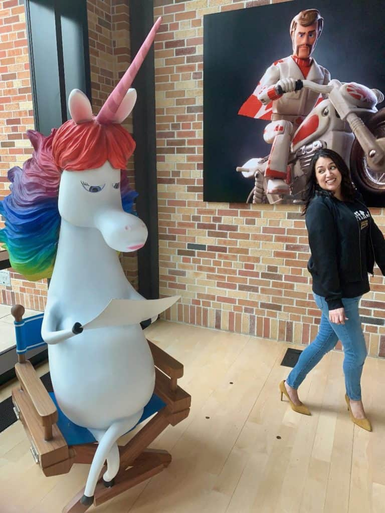 Rainbow Unicorn from Inside Out Pixar Studios