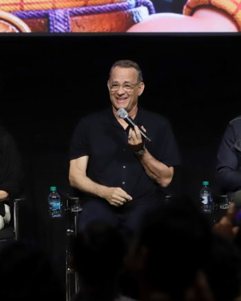Annie Potts, Tom Hanks, Tony Hale Interview for Toy Story 4