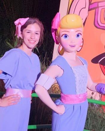 Where can you meet Bo Peep at Disney World?