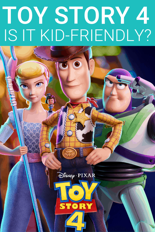 Is Toy Story 4 kid friendly? A parent review.
