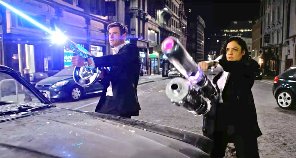 How much violence is in Men in Black: International?