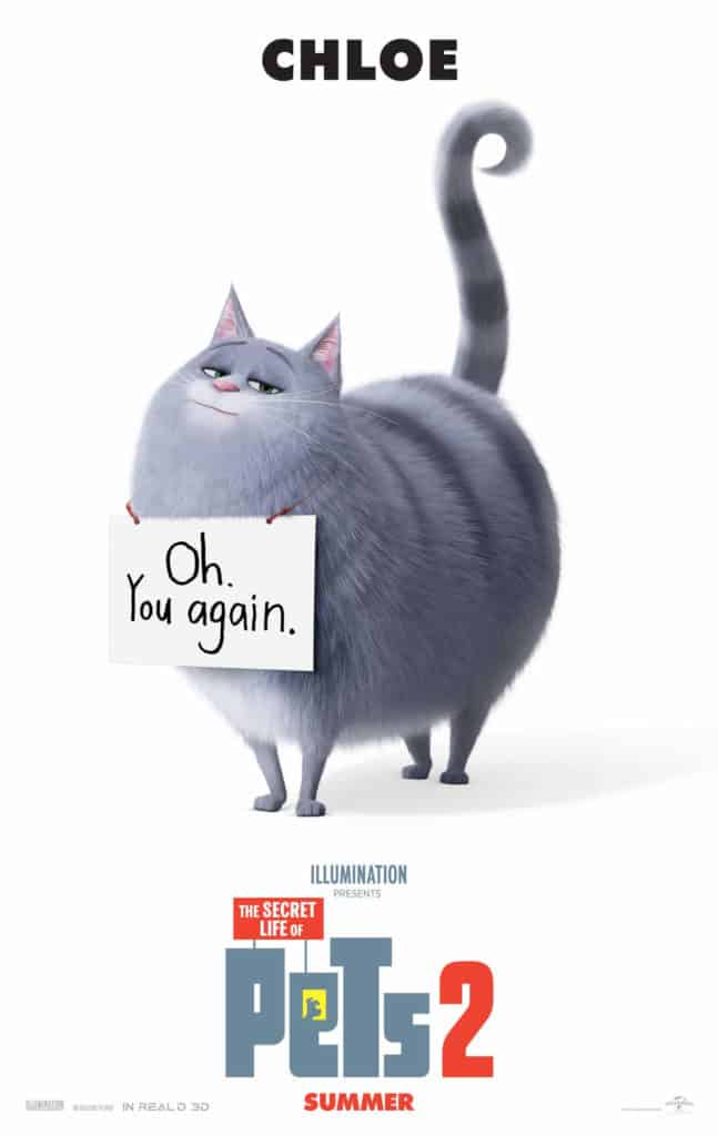 The Secret Life of Pets 2 is for cat lovers.