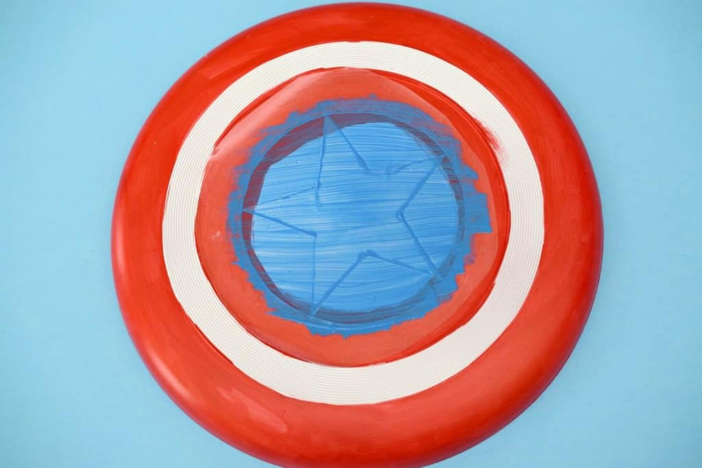 Captain America Flying Shield Instructions