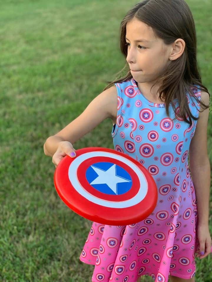 Make Your Own Captain America Shield Craft!
