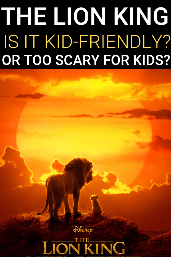 Is The Lion King kid friendly? A parent movie review.