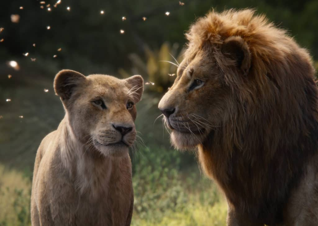 Too much botox on the animals in The Lion King for real emotion.