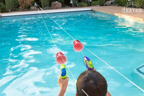 Free Summer Activities for Kids like Squirt Gun Races