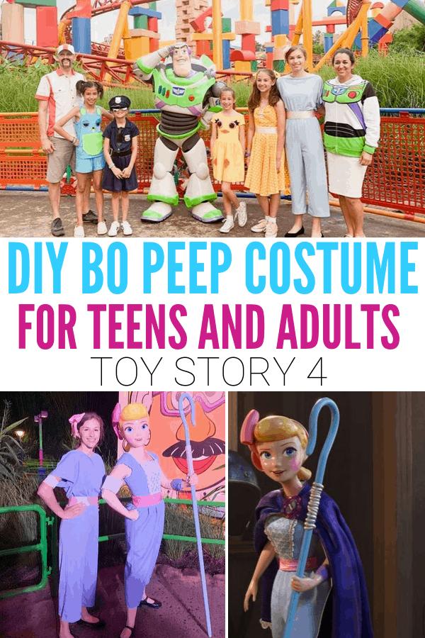 DIY Bo Peep DisneyBound for teens and adults!