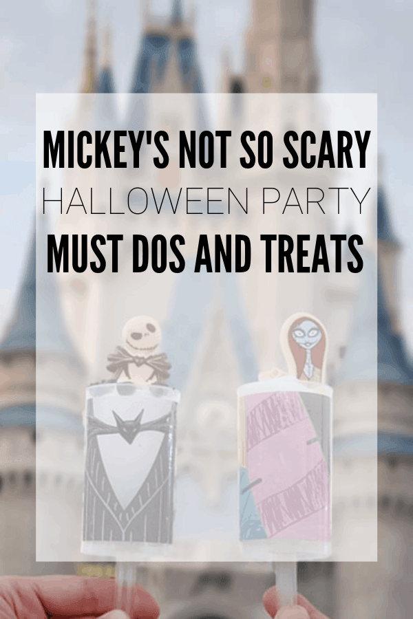 Must dos and must eat treats at Mickey's Not So Scary Halloween Party