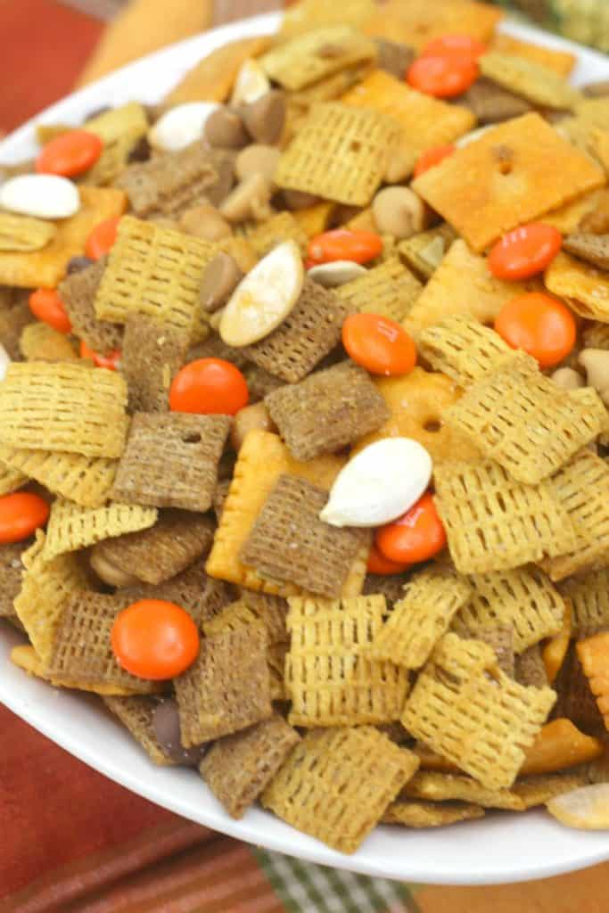 Sweet and salty Chex mix recipe!