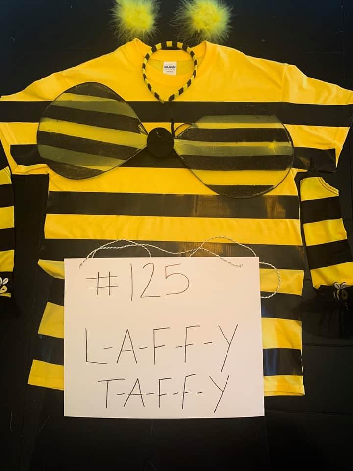 DIY Spelling Bee Halloween Costume