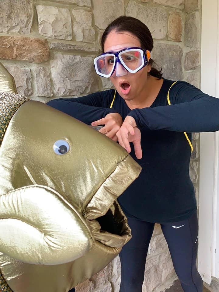 Scuba Diver DIY Costume