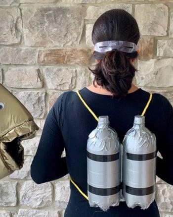 How to make a scuba diver costume