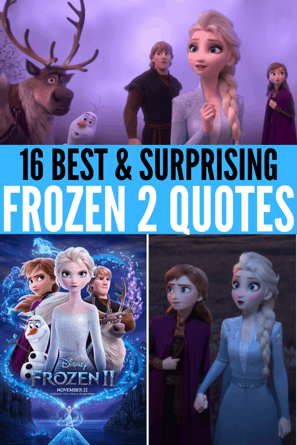 16 Best and Surprising Frozen 2 quotes, especially from Kristoff