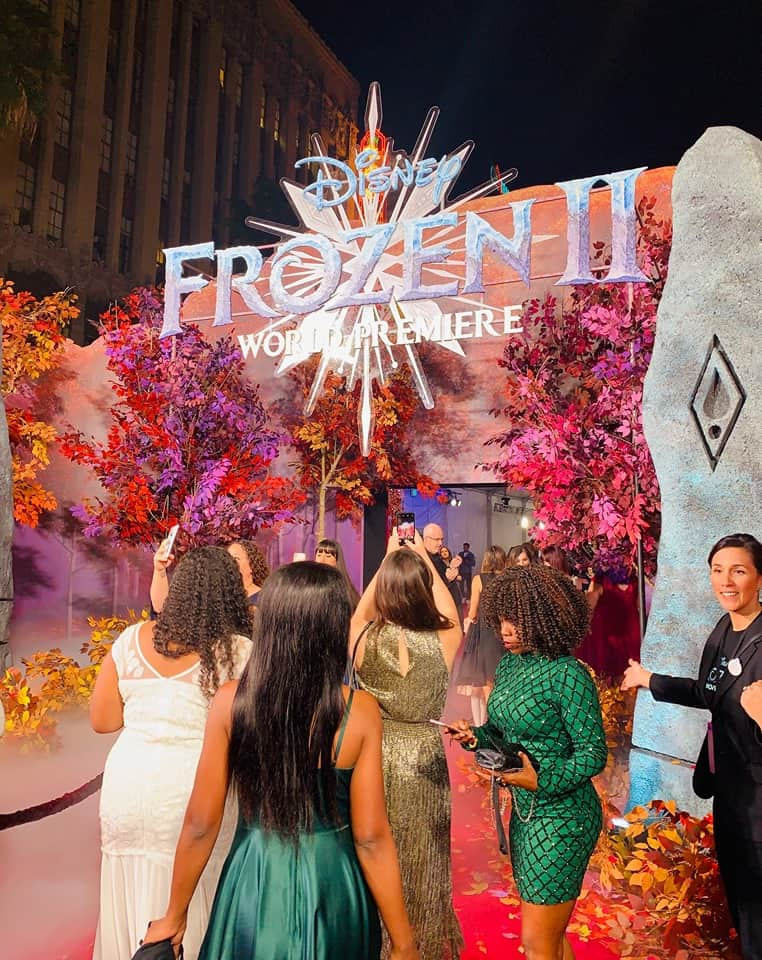 Frozen 2 Red Carpet Recap