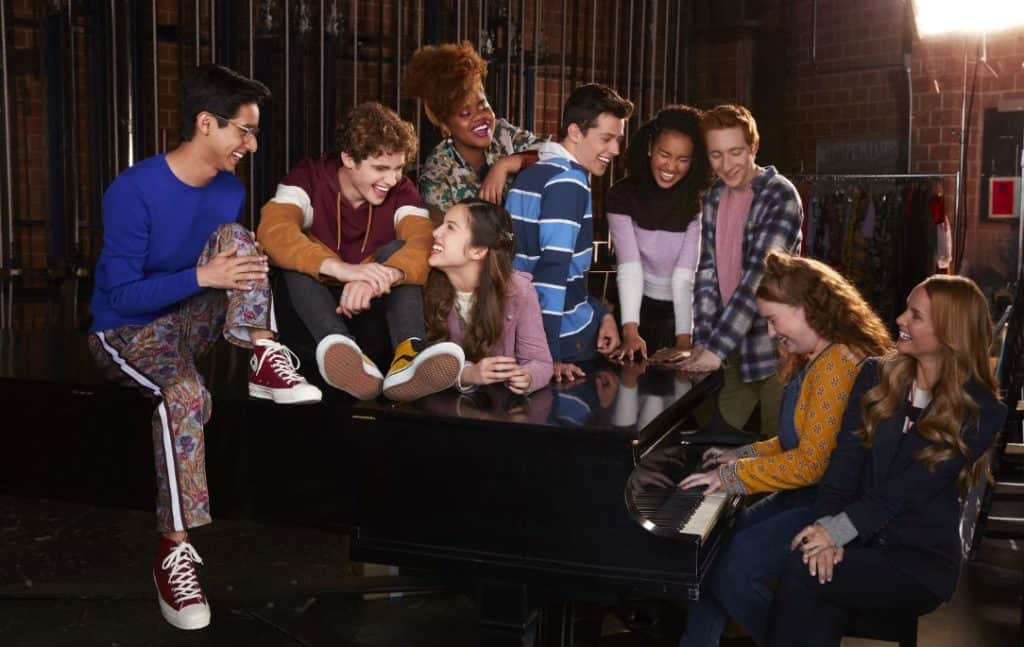 High School Musical The Musical The Series Cast