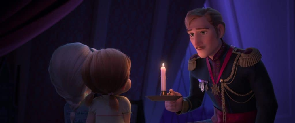 Do Elsa's parents come back in frozen 2?