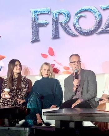 Kristen Bell Crying During Frozen 2 Press Junket