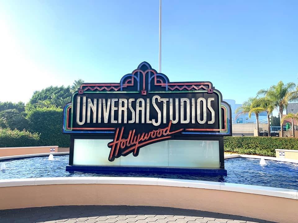 Universal Studios Hollywood Sign