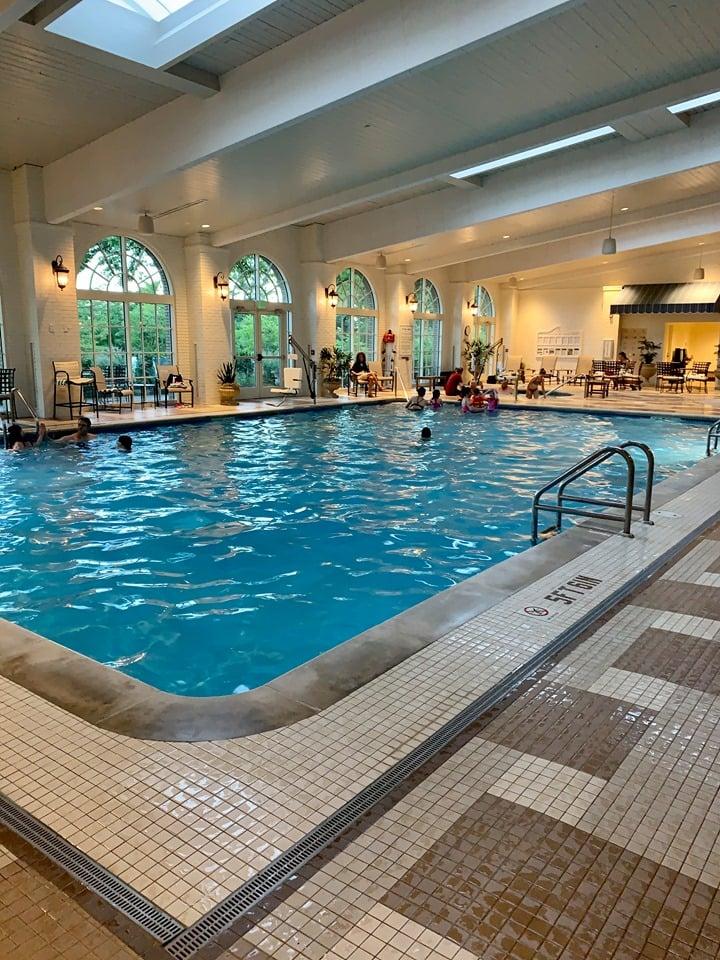 Hotel Hershey Indoor Pool