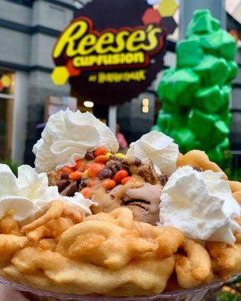 Reeses Funnel Cake Hersheypark