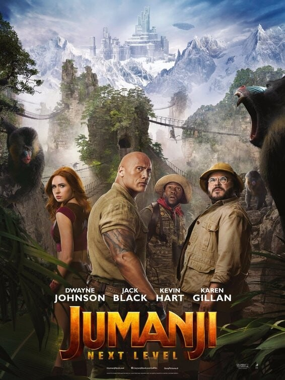 Jumanji: The Next Level Movie quotes