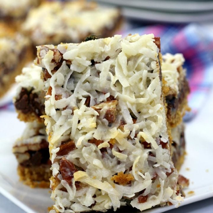 Hello Dolly Cookie Bars Recipe