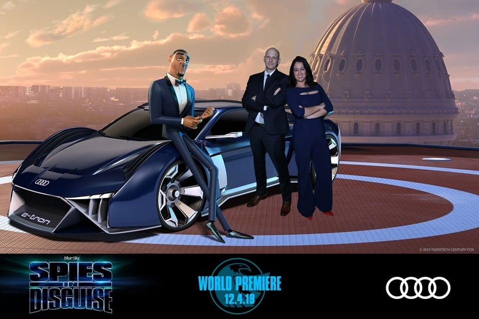 Spies in Disguise After Party