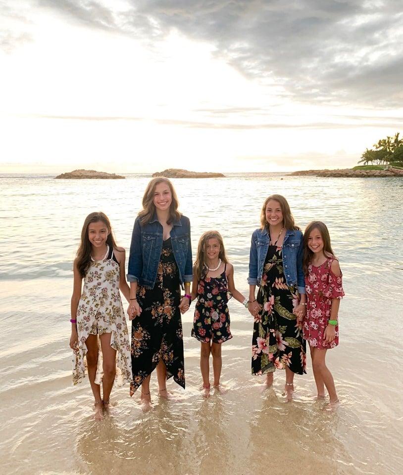 Lamb Girls at Disney Aulani in Hawaii