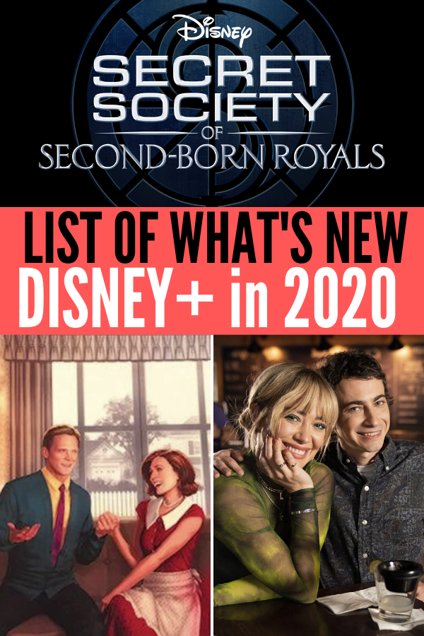 What's Coming in 2020 on Disney Plus