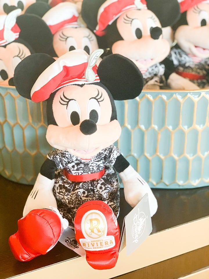 Riviera Resort Minnie Mouse Plush
